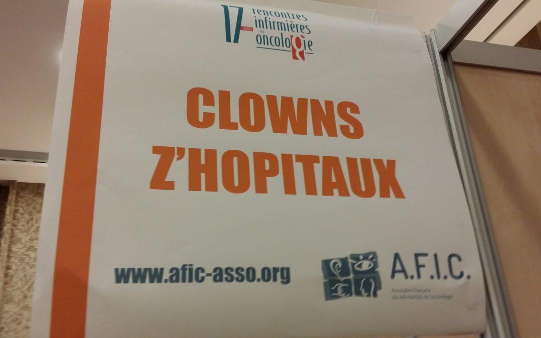 Clowns Z'hôpitaux, invité des 17 èmes rencontres Infirmières en Oncologie .