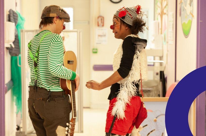 comment se déroule la formation d'un clown à l'hôpital ?