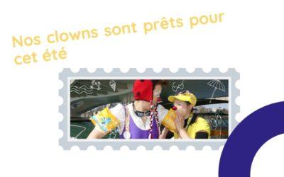 Nos Clowns sont gonflés à bloc pour l'été. Et vous ?