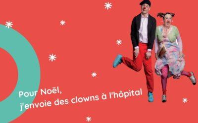 Pour Noël, les Clowns Z'hôpitaux débarquent dans vos boîtes aux lettres !