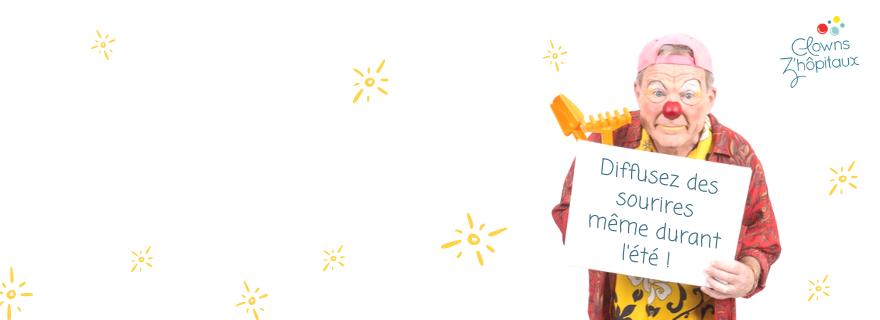 campagne de dons été 2019 - diffusez des sourires même durant l'été