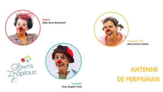trombinoscope clowns de l'antenne de Perpignan