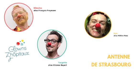 trombinoscope clowns de l'antenne de Strasbourg