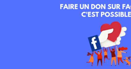 Comment faire un don sur Facebook ?
