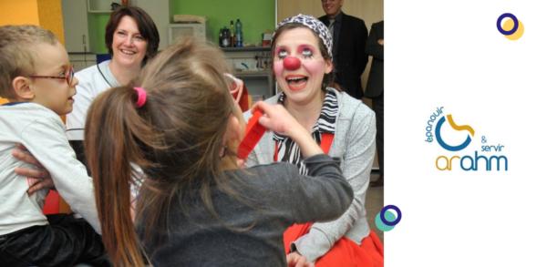 Intervention de clowns à l'hôpital au sein de l'IME - ARHAM de Strasbourg