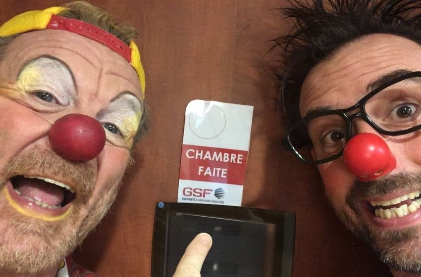 GSF mécène de Clowns Z'hôpitaux