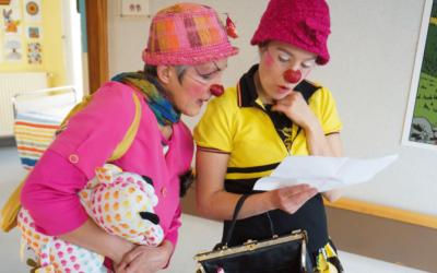 Comment se déroule une visite de clown à l'hôpital ?