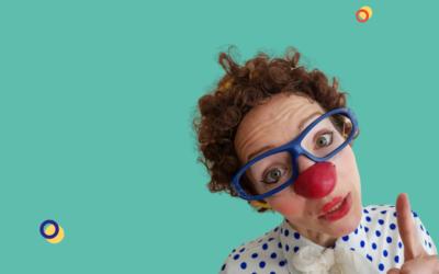 Le portrait de la clowne Filomène