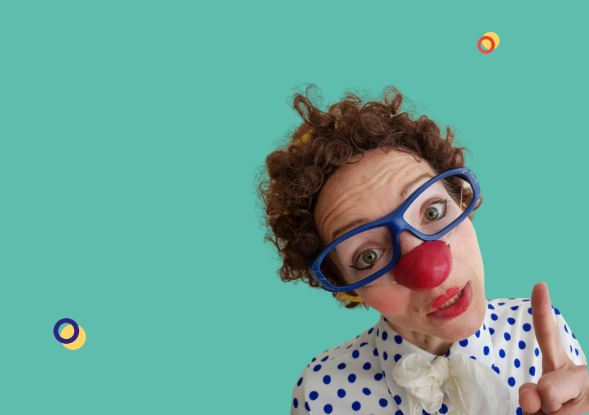 Filomène, clown à l'hôpital
