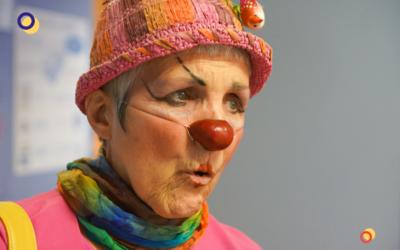 Le portrait de la clowne Gertrude