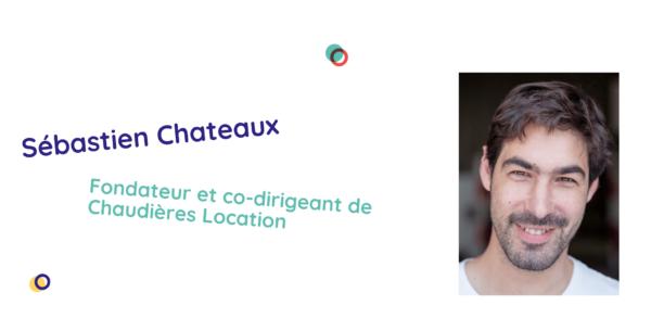 Sébastien Chateaux répond à nos questions