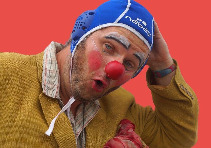 Portrait du clown Wakamé
