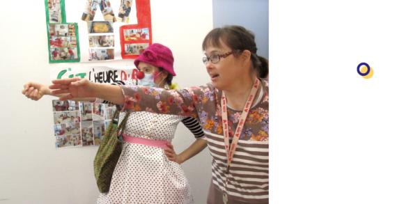 Clown à l'hôpital, un métier pour Sandra Burtin