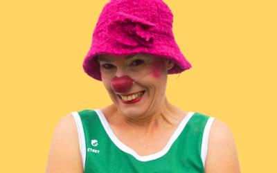 Le portrait de la clowne Sally Poppiette