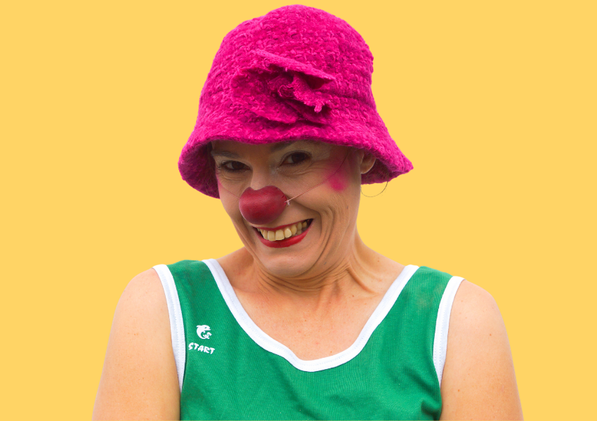 Portarit de Sandra Burtin, clowne à l'hôpital sur Lyon
